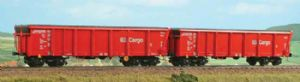 ACME 45018 DB Cargo 'Tamns895' Roll Top Open Wagons (x2) - REDUCED